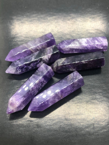 Amethyst Generator Point (small)~ Expansion, Release, Clearing, Freedom, Possibility & Divine Wisdom
