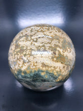 Ocean jasper | Atlantis Stone Sphere (large) ~ Raising Vibration, preparing or the new Golden Age (#2)