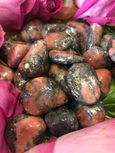 Triplite, wagnerite & pyrite ~ Activating, humour, creativity, focus & action