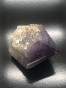 Natural Amethyst with polished Point (channeling keys & striations) ~ Expansion, Release, Clearing, Freedom, Possibility & Divine Wisdom (47)