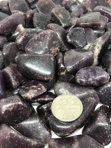 Lepidolite Tumbles ~ peace maker, calm, progress, stability, tranquility & balance