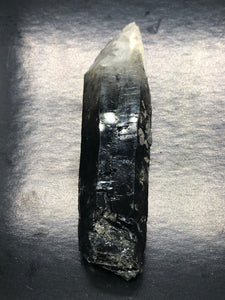 Lemurian Smokey Quartz ~ glyphs & key (23)
