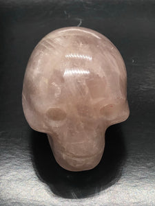 Rose Quartz Skull (small) ~ ascension & light work (13)