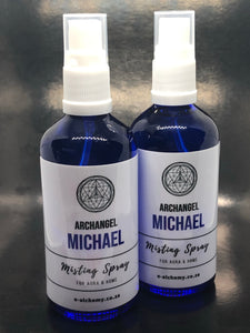 Misting spray ~ Archangel Michael (courage, wisdom and protection)