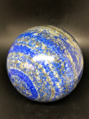 Lapis Lazuli Sphere (Large) ~ wisdom, soul truth & channeling (1)