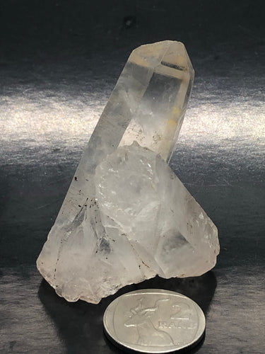 Lemurian Clear Quartz ~ bridge & keys (55)