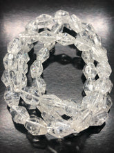 Clear Quartz Bracelet (faceted beads) ~ master healer, infuses light (4)