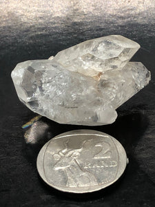 Herkimer Diamond (XL)~ attunement stone, psychic abilities, guidance, past life recall, soul retrieval & purpose & breaking patterns (2)