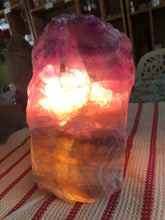 Fluorite Lamp (#9) ~ mental achievements, expanded consciousness & heart healing