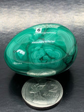 Malachite Eggs (medium) ~ Manifestation, raising vibration & spiritual transformation