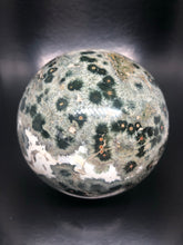 Ocean jasper | Atlantis Stone Sphere (XL) ~ Raising Vibration, preparing or the new Golden Age (#1)