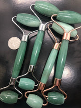 Green Aventurine Massage Roller ~ overall well being, stabalising emotions & heart healing
