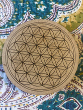 Mini Crystal grid, 10cm ~ Flower of Life (all purpose grid)