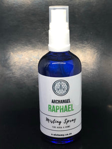 Misting spray ~ Archangel Raphael (abundance and healing)