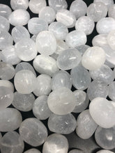 Selenite tumbles ~ connect to your guides, clarity, cleansing, activates 3rd eye & crown chakras