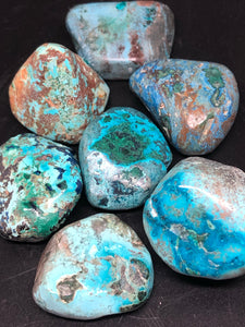 Shattuckite, baby freeforms ~ truth, channeling, past life vows & high vibration stone