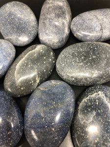 Lazulite gallets (rare) ~  the stone of heaven, third eye, psychic, channeling & dealing with fears