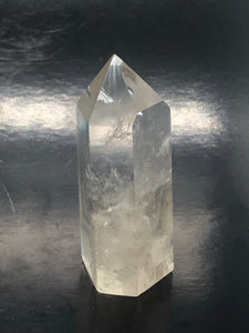 Citrine Double Isis Point (medium) ~ Abundance, authenticity, connection, flow & harmony (75)