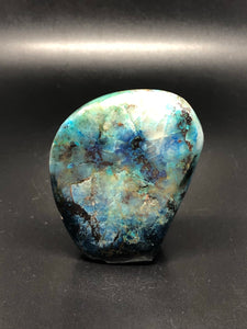 Shattuckite, small self standing freeform ~ truth, channeling, past life vows & high vibration stone (3)