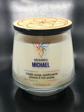 Archangel Michael Candle ~ Strength, courage, peaceful warrior, protection & truth speaking