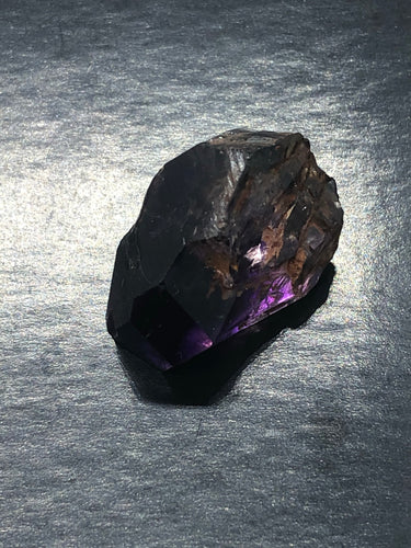 Smokey Amethyst Nodule (key) ~ soul star chakra, divine connection, healing & calming (50)