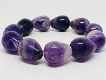 Chevron Amethyst bracelet ~ Integration of the 4 bodies