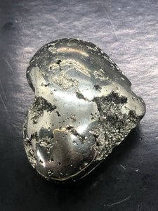 Pyrite Heart (Medium) ~ Abundance, truth, confidence, focus, creativity & potential (4)