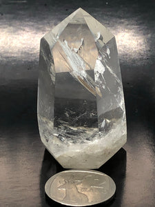 Clear Quartz Isis Point ~ healing, harmony & programable (42)