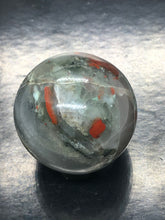 Bloodstone Sphere | ball ~ detoxing, release, purging & courage (1)