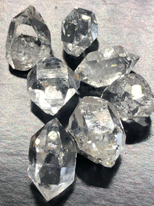 Herkimer Diamond (Medium) ~ attunement stone, psychic abilities, guidance, past life recall, soul retrieval & purpose & breaking patterns