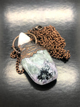 Charoite & Petalite Necklace ~ spiritual guidance, acceptance, love, dream stone, illuminator & letting go