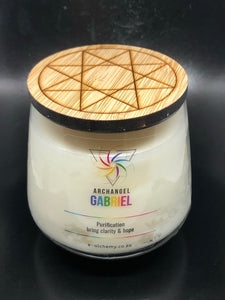 Archangel Gabriel Candle ~ Purification, clarity & hope