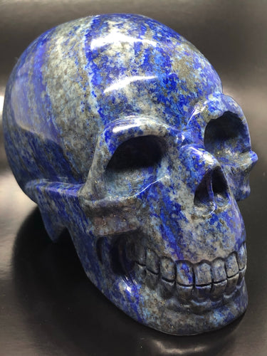 Lapis Lazuli Skull (large) ~ ascension & light work (1)