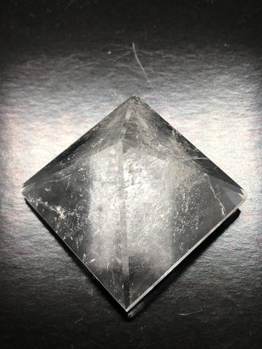 Clear Quartz Pyramid ~ Power, clarity, amplification, connection, truth & perspective (2)