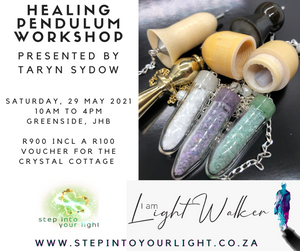 Pendulum Workshop ~ Saturday, 29 May 2021