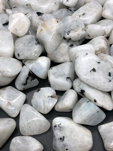 Moonstone Tumbles ~ calm, dreams, inspiration, spirituality & emotional balance