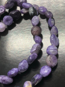 Charoite Bracelets ~ spiritual guidance, acceptance, love, dream stone, illuminator & letting go