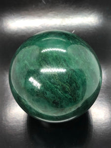 Swazi Jade Sphere (large) ~ abundance, cleansing, protection, positive energy, calm & confidence (1)