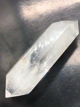 Clear Quartz, double terminated point ~ with time link (27)