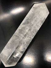 XL Clear Quartz, double terminated Point ~ Isis Point on both sides (21)