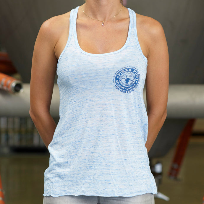 Racerback Tank Top (Blue)