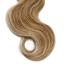 Load image into Gallery viewer, Highlight Color (8/613)- 3 Bundles + 1 Closure Brazilian Straight ,Brazilian Hair Extensions, Arjuni hair, burmese hair, hair supplier, hair exporter, hair frontal wefts, 360 lace frontal-Dynasty Goddess Hair