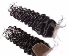 Load image into Gallery viewer, Mink Burmese Lace Closures - Loose Deep Wave- Burmese Hair Extensions, Arjuni hair, burmese hair, hair supplier, hair exporter, hair closure wefts, lace closures -Dynasty Goddess Hair
