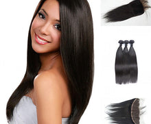 Load image into Gallery viewer, Mink Brazilian Lace Frontal - Straight- Brazilian Hair Extensions, Arjuni hair, burmese hair, hair supplier, hair exporter, hair lace frontal wefts, lace frontals -Dynasty Goddess Hair