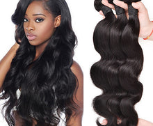 Load image into Gallery viewer, Mink Indian Body Wave Hair Extensions-Indian hair extensions, human hair wigs, natural hair, wavy hair, curly hair, straight hair, hair, wig, wigs, wig store-Dynasty Goddess Hair