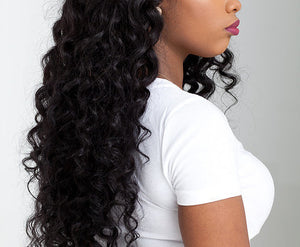 Peruvian Loose Deep Wavy Hair Extensions- Peruvian hair extensions, body wave, human hair wigs, natural hair, wavy hair, curly hair, straight hair, hair, wig, wigs, wig store -Dynasty Goddess Hair