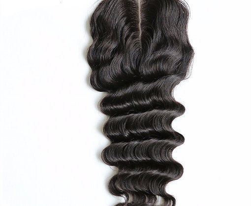 Mink Brazilian Lace Closure - Loose Deep Wave- Brazilian Hair Extensions, Arjuni hair, burmese hair, hair supplier, hair exporter, hair closure wefts, lace closure -Dynasty Goddess Hair