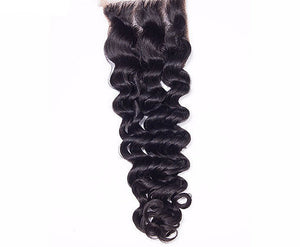 Mink Burmese Lace Closures - Deep Curl- Burmese Hair Extensions, Arjuni hair, burmese hair, hair supplier, hair exporter, hair closure wefts, lace closures -Dynasty Goddess Hair