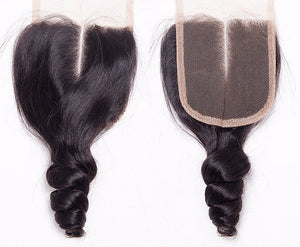 Peruvian Lace Closures - Loose Curl- Peruvian Hair Extensions, Arjuni hair, burmese hair, hair supplier, hair exporter, hair closure wefts, lace closures-Dynasty Goddess Hair