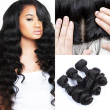 Load image into Gallery viewer, Mink Brazilian Lace Frontal - Loose Curl- Brazilian Hair Extensions, Arjuni hair, burmese hair, hair supplier, hair exporter, hair lace frontal wefts, lace frontals -Dynasty Goddess Hair
